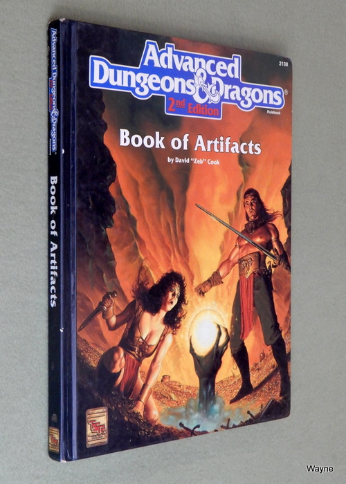 Image for Book of Artifacts (Advanced Dungeons & Dragons, 2nd Edition) - PLAY COPY