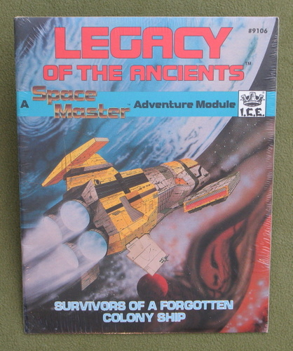 Image for Legacy of the Ancients (Space Master)