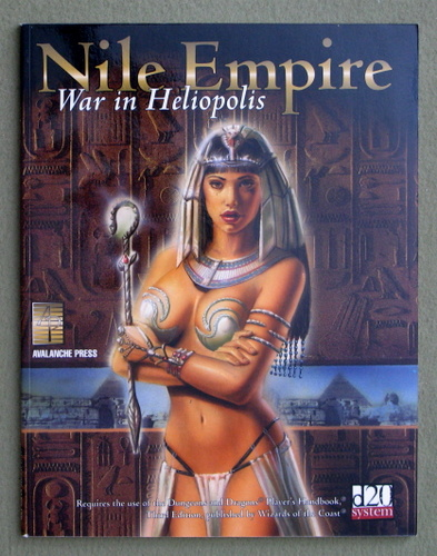 Image for Nile Empire: War In Heliopolis (D20 System)