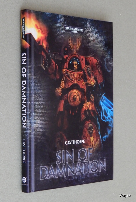 Image for Sin of Damnation: A Blood Angels Space Marines Hardcover Novella (Warhammer 40,000 40K)