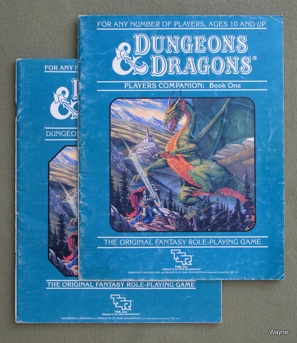 Image for Dungeons & Dragons Players Companion & DM's Companion [BOOKS ONLY] - PLAY SET