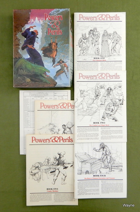 Image for Powers & Perils: Fantasy Role Playing Game - PLAY SET