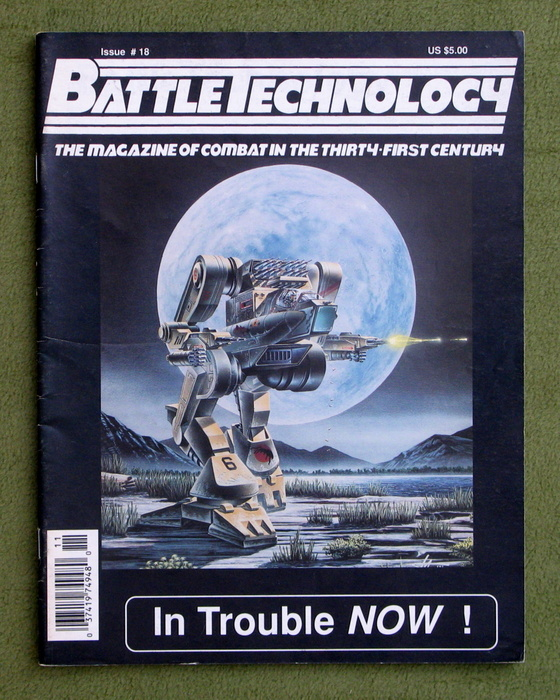 Image for BattleTechnology Magazine, Issue 18 (Battletech)