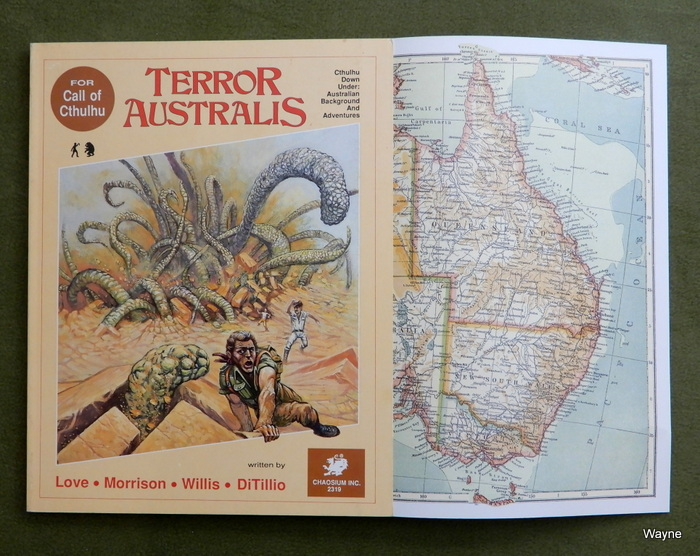 Image for Terror Australis: Cthulhu Down Under, Australian Background and Adventures (Call of Cthulhu)