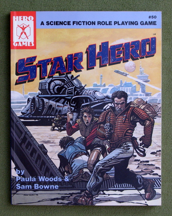Image for Star Hero: A Science Fiction Role Playing Game