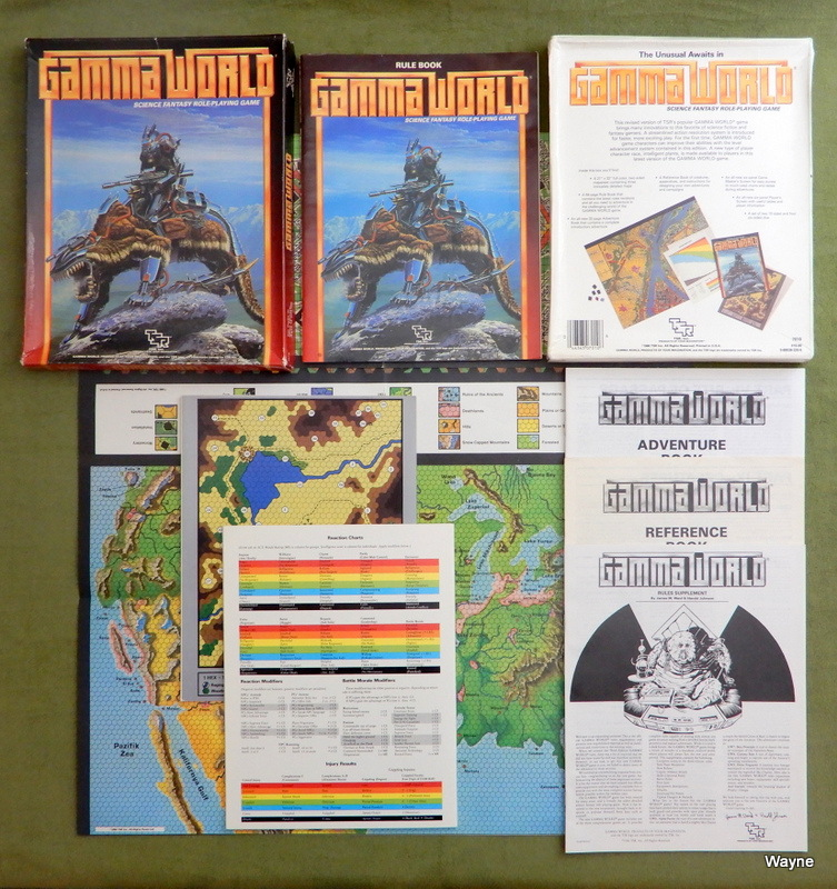 Image for Gamma World: Science Fantasy Role-Playing Game (3rd edition)