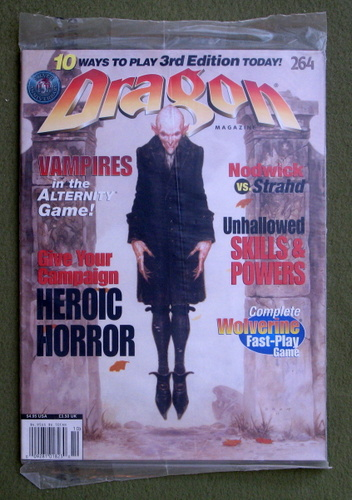 Image for Dragon Magazine, Issue 264