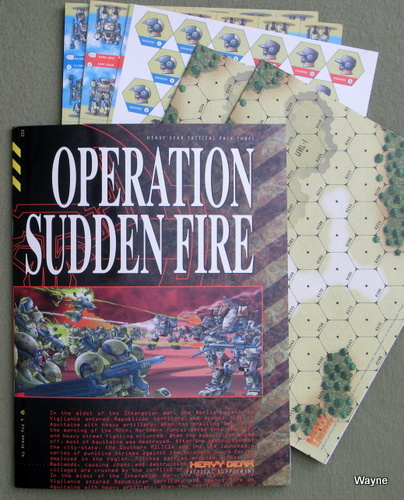Image for Operation Sudden Fire (Heavy Gear Tactical Pack Three)