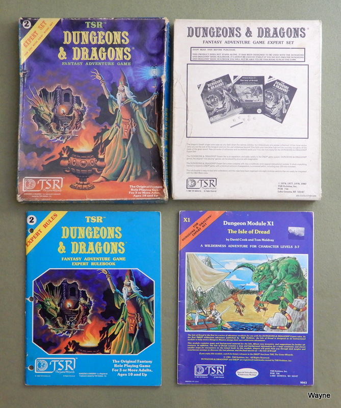 Image for Dungeons & Dragons Expert Set - PLAY SET
