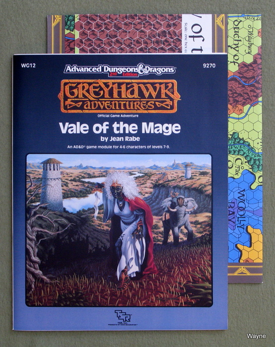 Image for Vale of the Mage (Advanced Dungeons & Dragons/Greyhawk Module WG12)