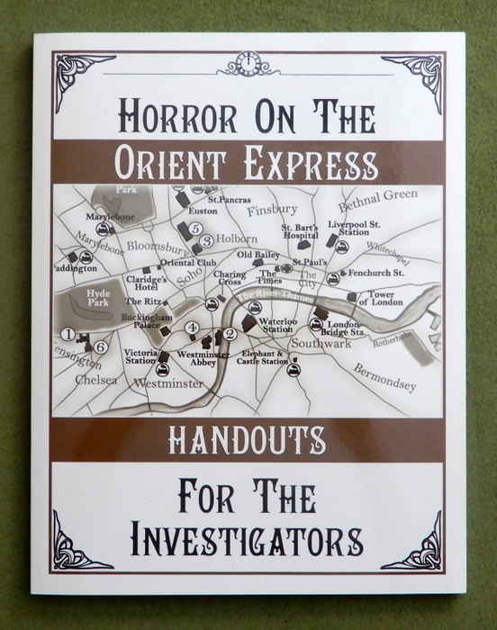 Image for Horror on the Orient Express - Handouts for the Investigators (Call of Cthulhu)