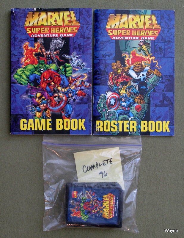 Image for Marvel Super Heroes Adventure Game (SAGA System) - NO BOX