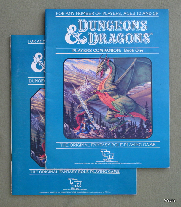 Image for Dungeons & Dragons Players Companion & DM's Companion [BOOKS ONLY]