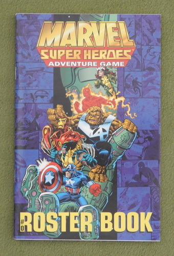 Image for ROSTER BOOK: Marvel Super Heroes Adventure Game (SAGA System)