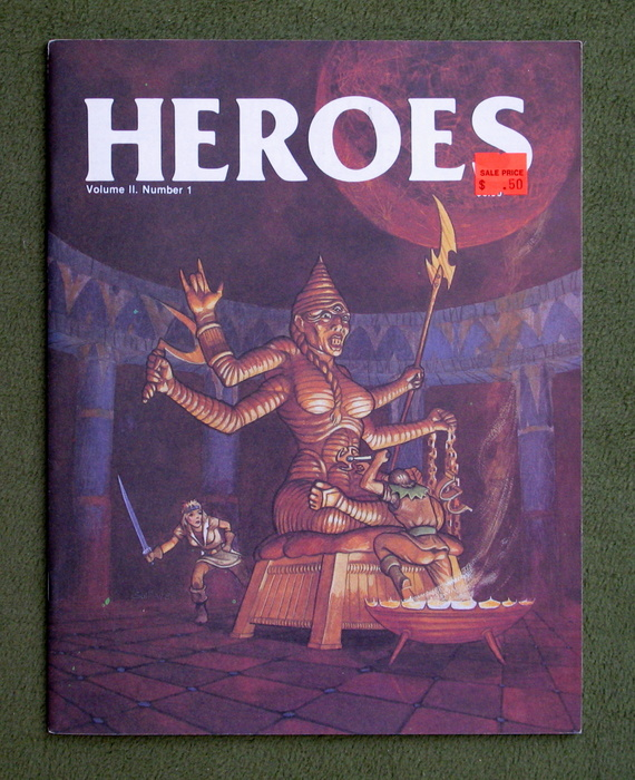 Image for HEROES Role-Playing Magazine: Volume 2, Number 1