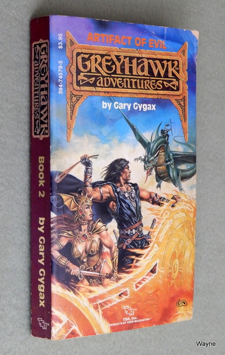 Image for Artifact of Evil (Greyhawk Adventures Novels, Book 2) - READING COPY