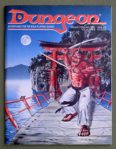 Image for Dungeon Magazine, Issue 33