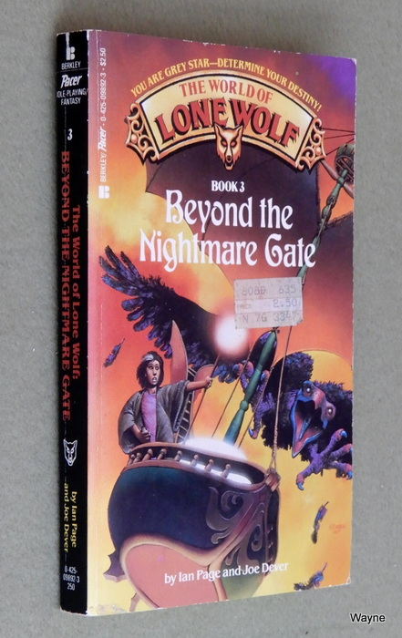Image for Beyond the Nightmare Gate (World of Lone Wolf #3)