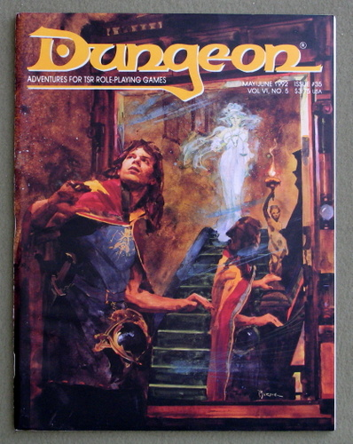 Image for Dungeon Magazine, Issue 35