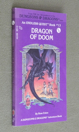 Image for Dragon of Doom (Endless Quest Book 13: Dungeons & Dragons)