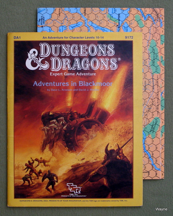 Image for Adventures in Blackmoor (Dungeons & Dragons Module DA1)