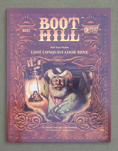 Image for Lost Conquistador Mine (Boot Hill BH2) REPRINT