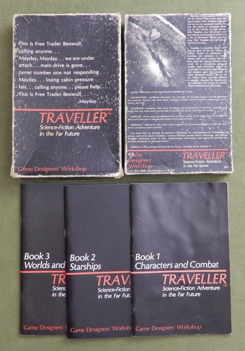 Image for Traveller Books 1-3: Core Rules - PLAY SET
