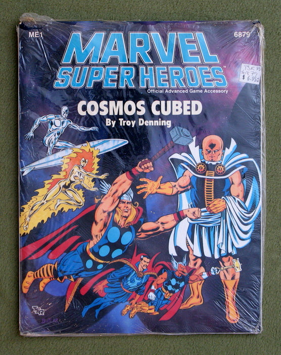 Image for Cosmos Cubed (Marvel Super Heroes Module ME1)