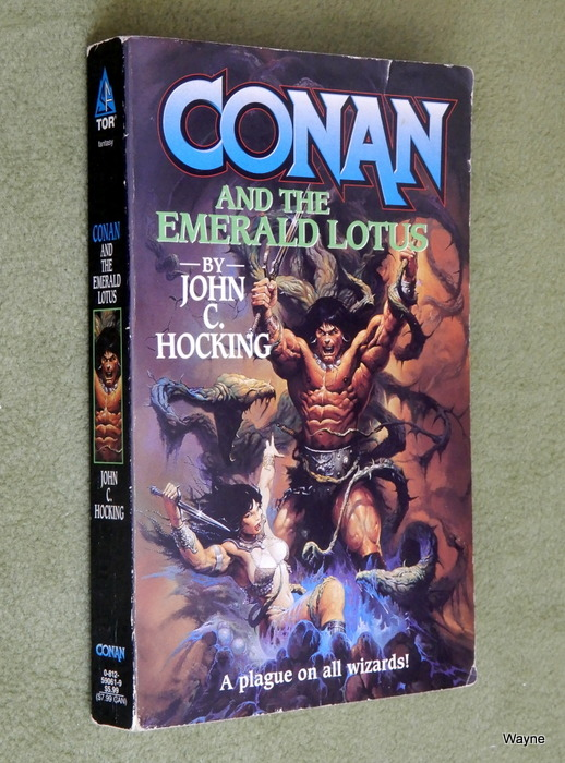 Image for Conan and the Emerald Lotus