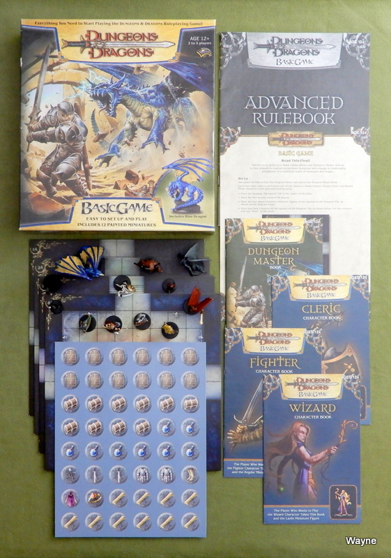 Image for Dungeons & Dragons Basic Game - Blue Dragon Edition