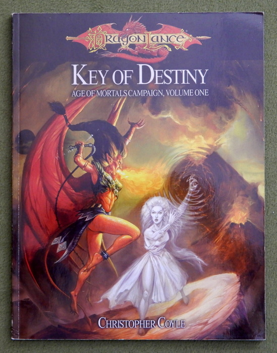 Image for Key of Destiny - Age of Mortals Campaign, Volume One (Dragonlance: Dungeons & Dragons D20 System)