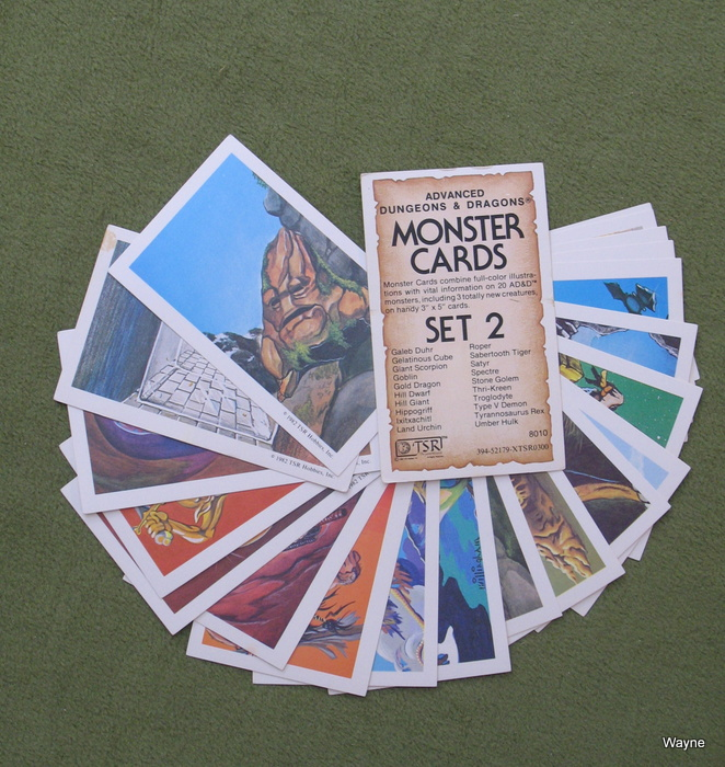 Image for Monster Cards, Set 2 (Advanced Dungeons and Dragons)