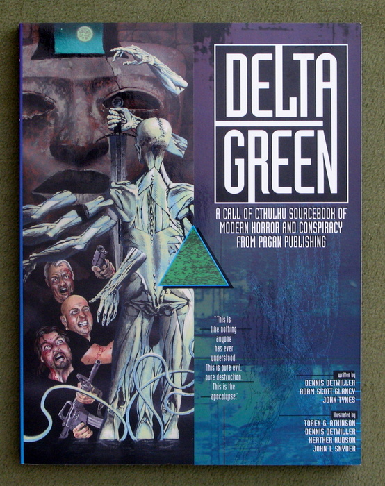 Image for Delta Green (Call of Cthulhu campaign setting)