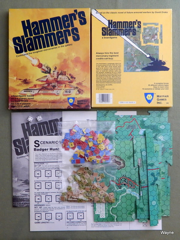 Image for Hammer's Slammers: The Boardgame Based on David Drake's novel of Armored Warfare in the Third Millenium