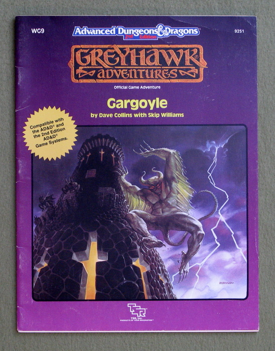 Image for Gargoyle (Advanced Dungeons & Dragons/Greyhawk Adventures module WG9)