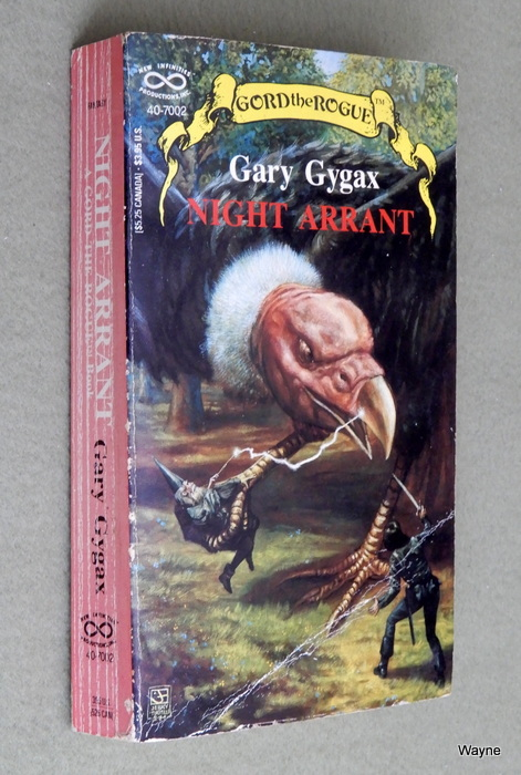 Image for Night Arrant (Gord the Rogue, No 2) - READING COPY