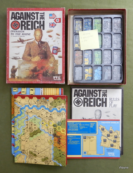 Image for Against the Reich: Board Game - WORN PLAY SET