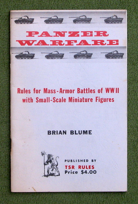 Image for PANZER WARFARE: Rules for Mass-Armor Battles of WWII with Small-Scale Miniature Figures