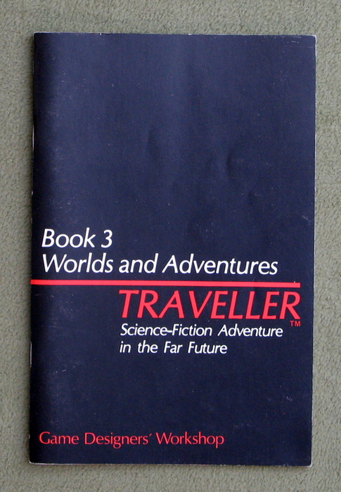 Image for Traveller: Book 3 - Worlds and Adventures