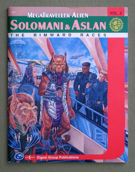 Image for Solomani & Aslan: The Rimward Races (Megatraveller Alien Series, Vol. 2)