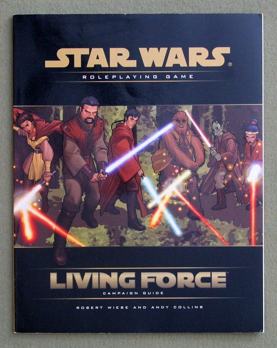 Image for Living Force Campaign Guide (Star Wars D20 Roleplaying Game)