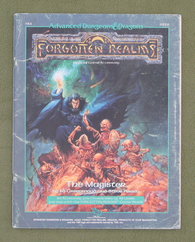 Image for The Magister (AD&D: Forgotten Realms) - PLAY COPY