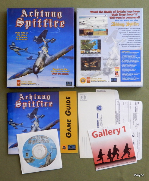 Image for Achtung Spitfire