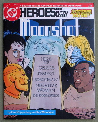 Image for Moonshot (DC Heroes RPG)