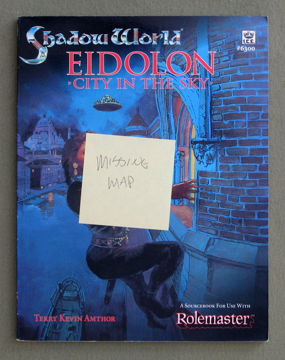 Image for Eidolon: City in the Sky (Rolemaster: Shadow World) - MISSING MAPS