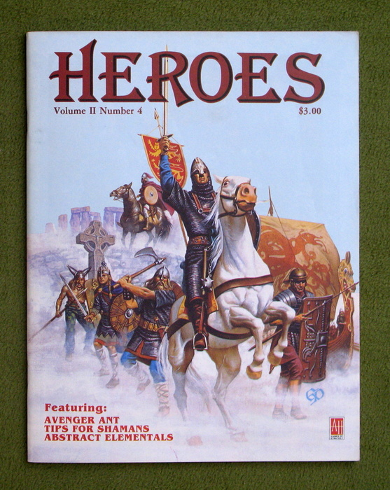 Image for HEROES Role-Playing Magazine: Volume 2, Number 4