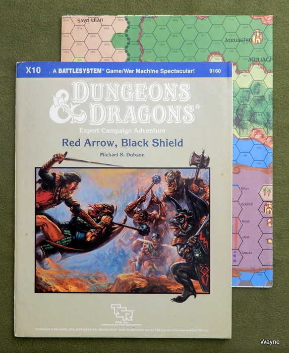 Image for Red Arrow, Black Shield (Dungeons & Dragons Supermodule X10) - WATER STAIN - INCOMPLETE