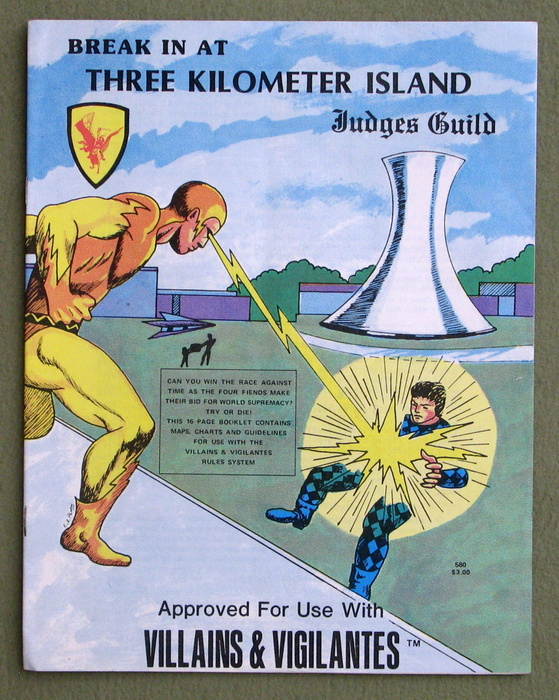 Image for Break in At Three Kilometer Island (Villains and Vigilantes)