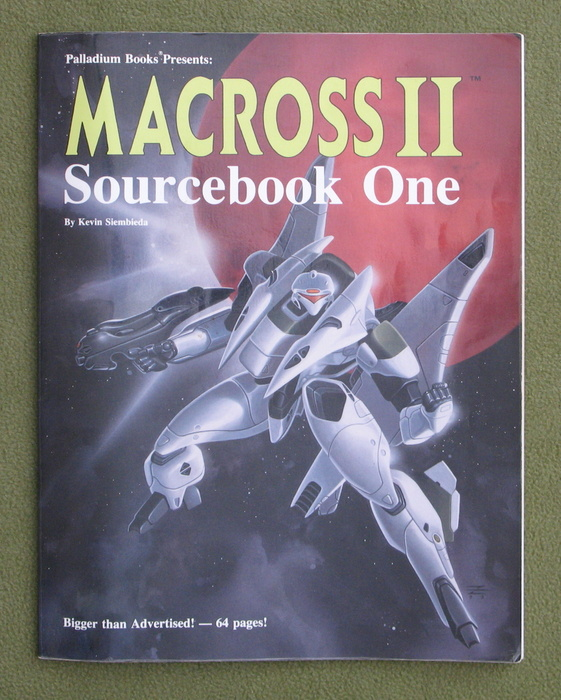 Image for Macross II: Sourcebook One (Robotech RPG)