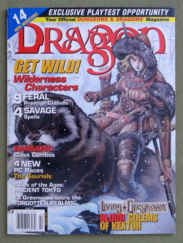 Image for Dragon Magazine, Issue 292